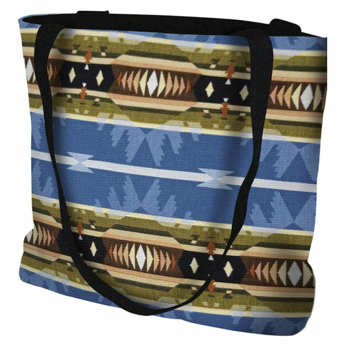 Cimarron Blue Tote Bag