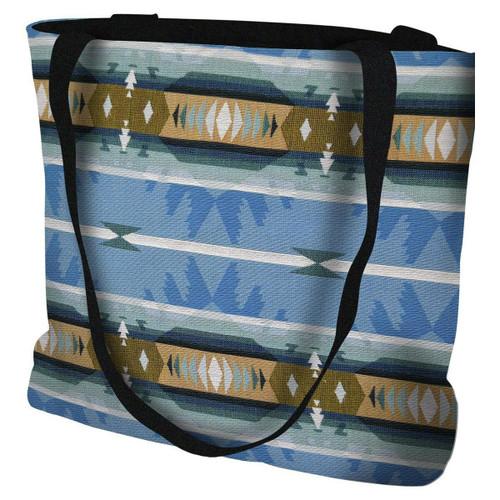 Cimarron Turquoise Tote Bag