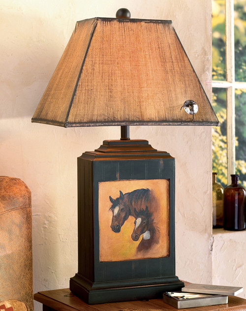 Horse Haven Table Lamp