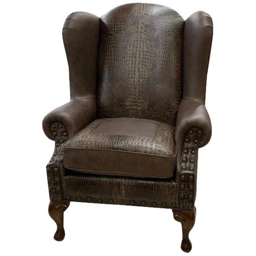 Classic Croc Wingback Chair