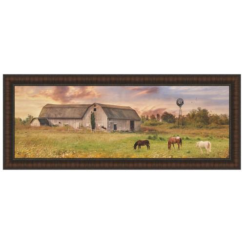 Clayton Barnyard Framed Print