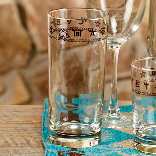 Rope & Brands Water Glasses - Set of 4 - BACKORDERED UNTIL - 01/15/2022