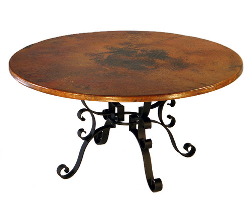 Roman Round Dining Table - 54 Inch