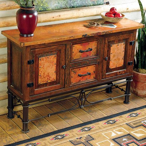 Pablo Copper Console Table