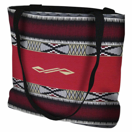 Concho Springs Red Tote Bag