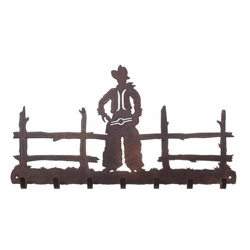 Cowboy Key Chain Holder