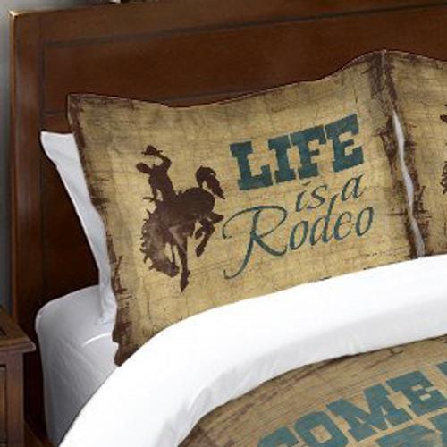Cowboy Lifestyle Duvet Standard Sham