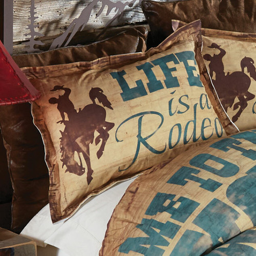 Cowboy Lifestyle Standard Sham