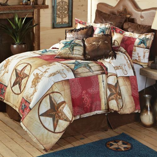 Cowboy Way Comforter - King