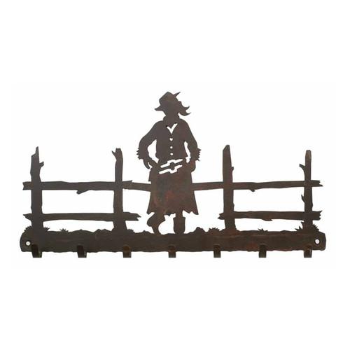 Cowgirl Key Chain Holder