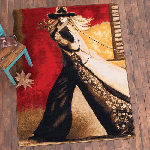Cowgirl Way Rug - 4 x 5