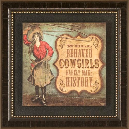 Cowgirls Framed Wall Art