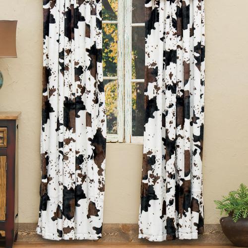 Cowhide Plush Drapes