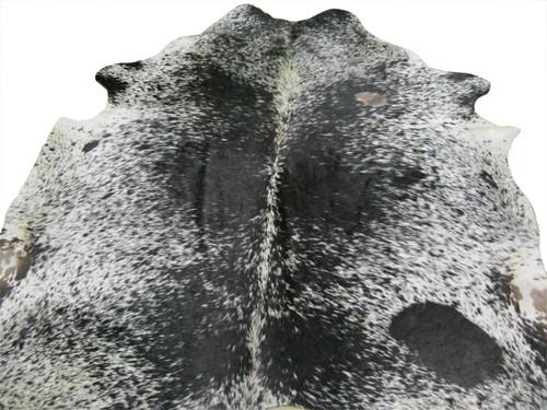 Cowhide Rug - Black & White Speckled