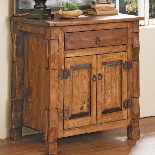 Cross Creek Solid Pine Cabinet