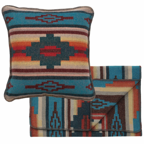 Crystal Creek II Bedscarf & Pillow Set - Queen