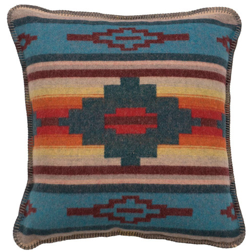 Crystal Creek Square Pillow