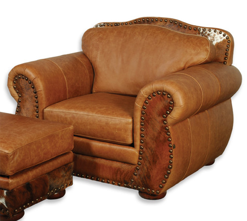 The Legend Everlast Leverage & Hair on Hide Chair