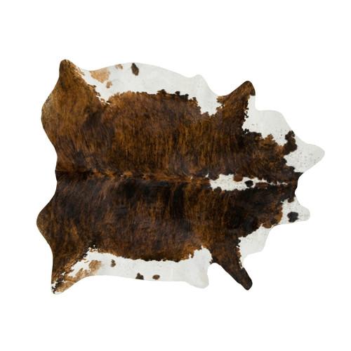 Dark Tri Color Special Cowhide Rug - Medium