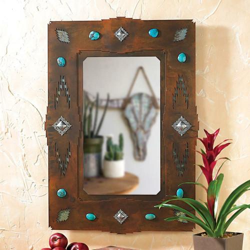 Desert Diamond Mirror - Small