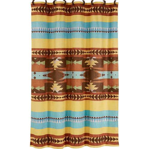 Desert Diamond Shower Curtain