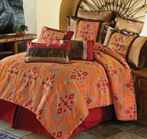 Desert Maze Comforter Set - King