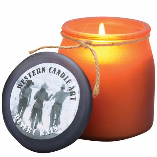 Desert Rain Western Jar Candle