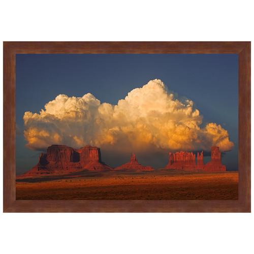 Desert Rainshower Framed Art