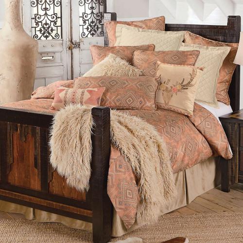 Desert Rose Bed Set - Twin