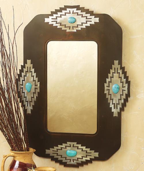 Desert Stone Mirror