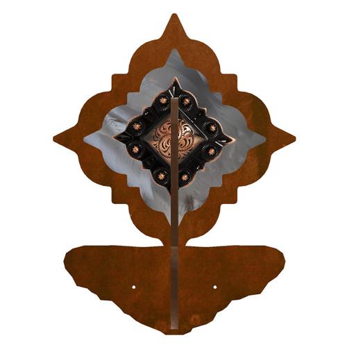 Diamond Copper Berry Concho Double Hook