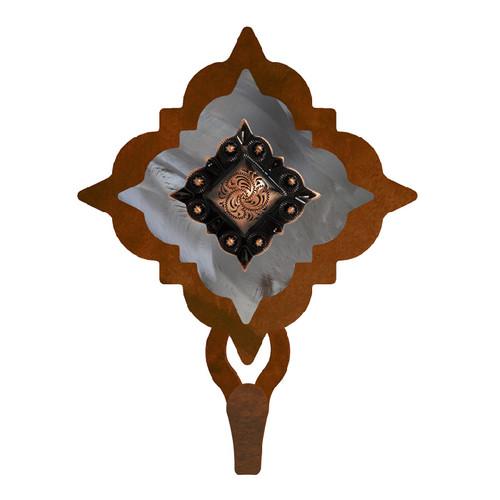 Diamond Copper Berry Concho Single Hook