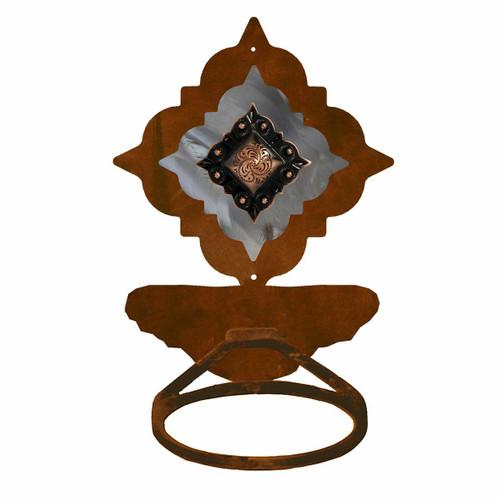 Diamond Copper Berry Towel Ring