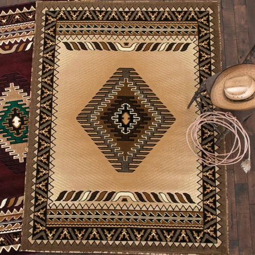 Diamond Mesa Berber Rug - 5 x 7