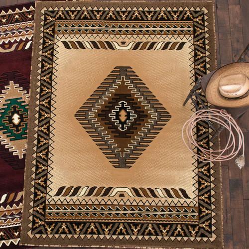 Diamond Mesa Berber Rug - 8 x 10