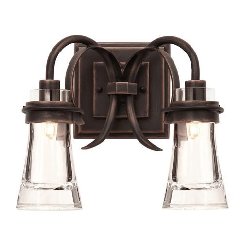 Dover 2 Light Vanity Lamp