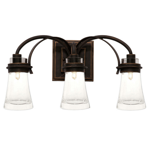 Dover 3 Light Vanity Lamp