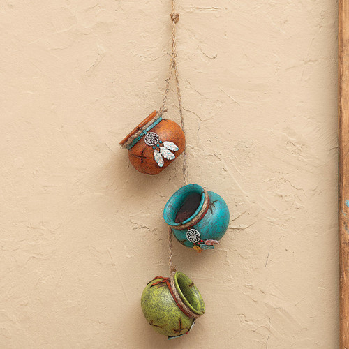 Dreamcatcher Hanging Pots on a String