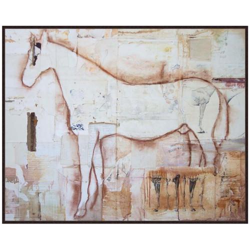 Equine Anatomy Canvas Art