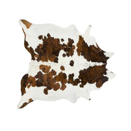 Exotic Tri Color Special Cowhide Rug - Medium