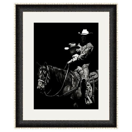 Father & Son Cowboys Framed Art