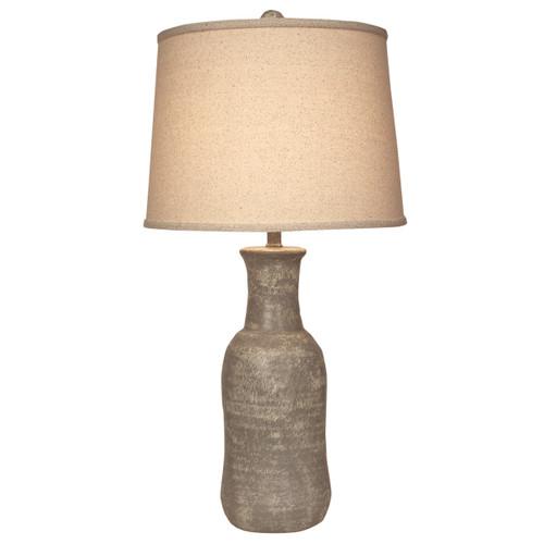 Faux Concrete Jug Table Lamp