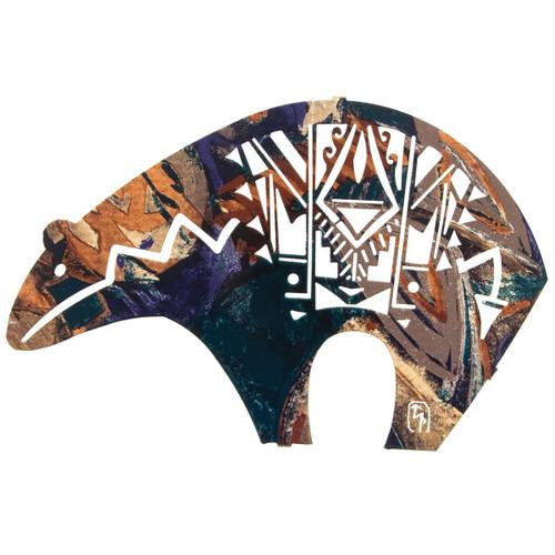 Fetish Bear Metal Wall Art