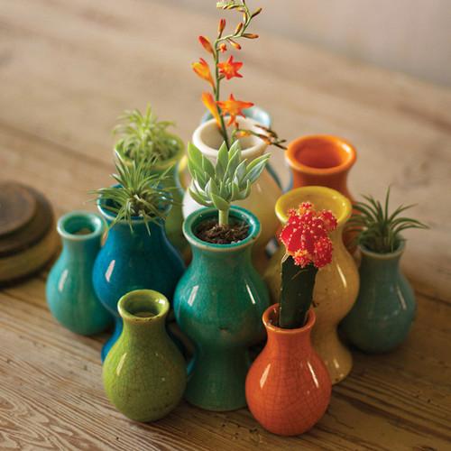Carnivale Ceramic Vases - Set of 13