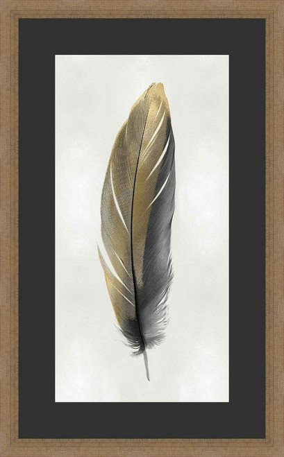 Floating Feather Framed Wall Art