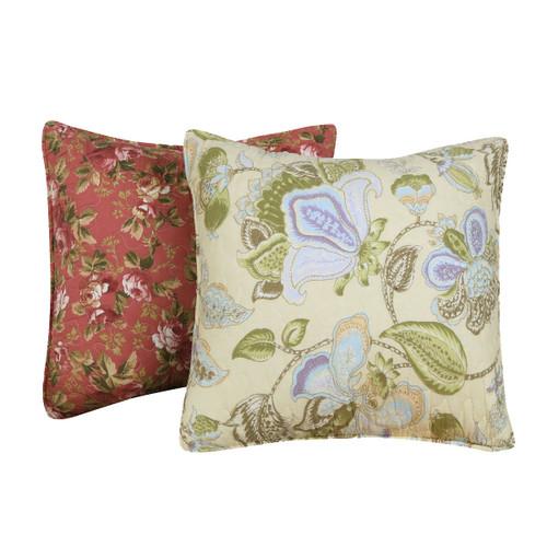 Floral Meadows Decorative Pillow Pair