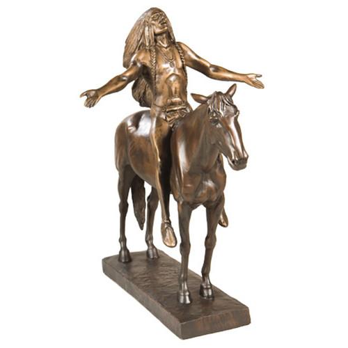 Free Spirit Indian Chief Sculpture