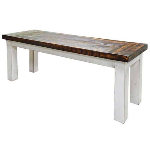 Friar Bench - Weathered White