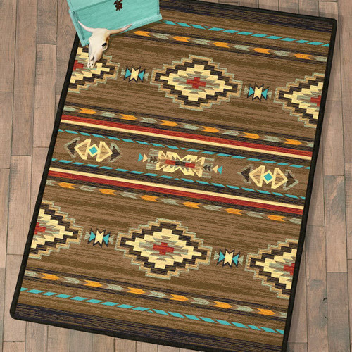 Frontier Outpost Rug - 4 x 5