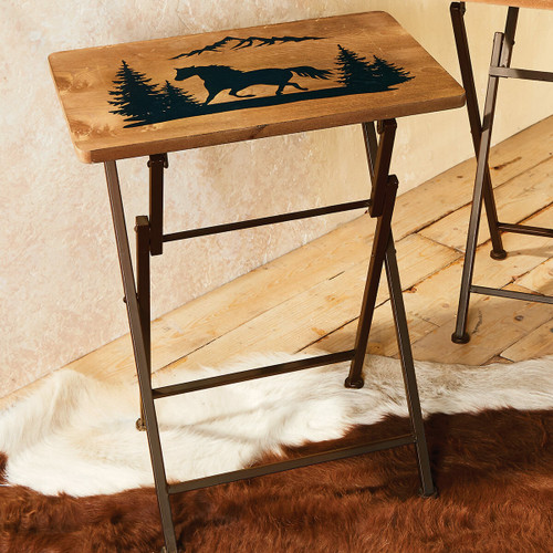 Galloping Horse Folding Side/Tray Table